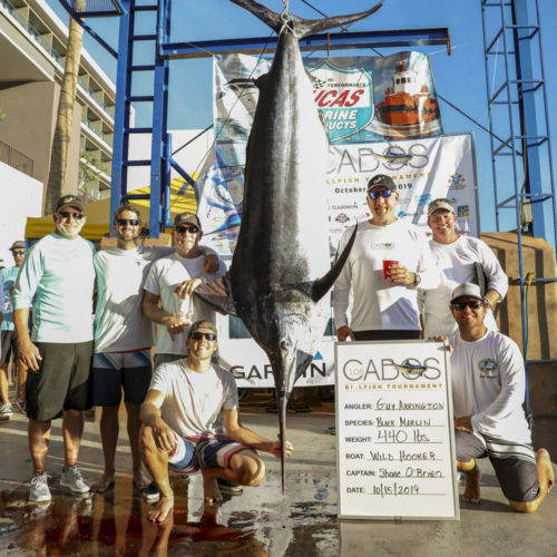 Team Wild Hooker's Black Marlin Steals the Show on Day One